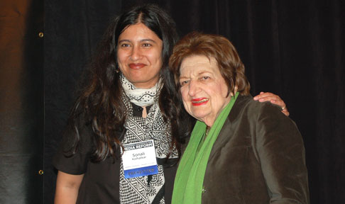 Sonali Kolhatkor, Afghan Women's Mission and KPFK and Helen Thomas, Hearst Newspaper