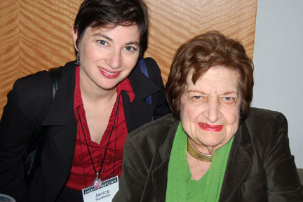 Janice and Helen Thomas